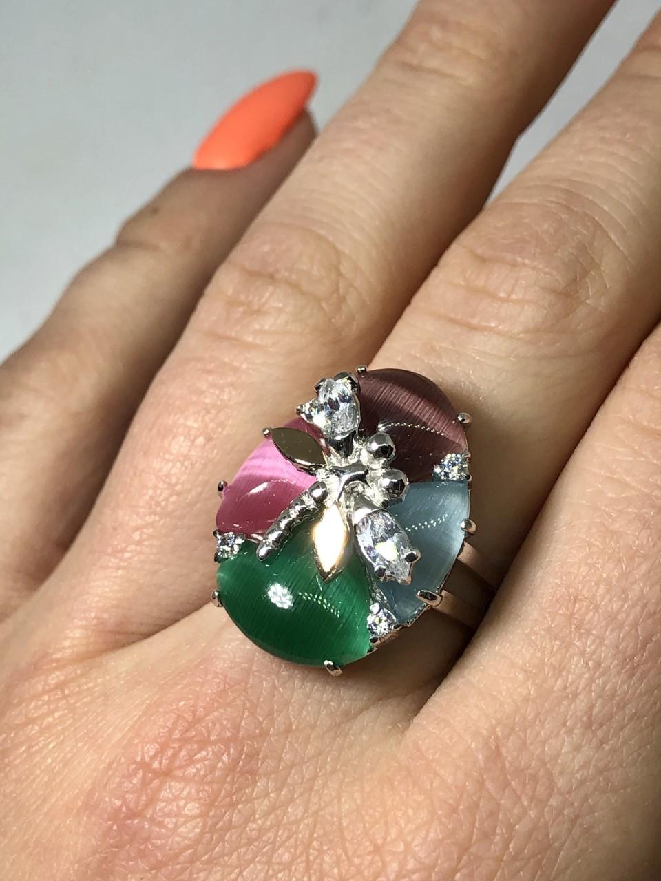 Серебряное кольцо Арт.211