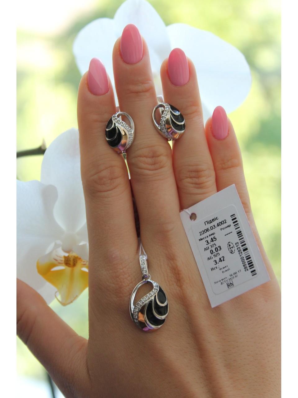 Серебряные серьги Арт.2206