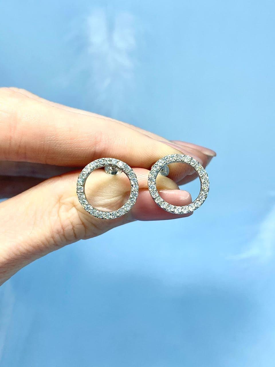 Серебряные серьги Арт.2223-1