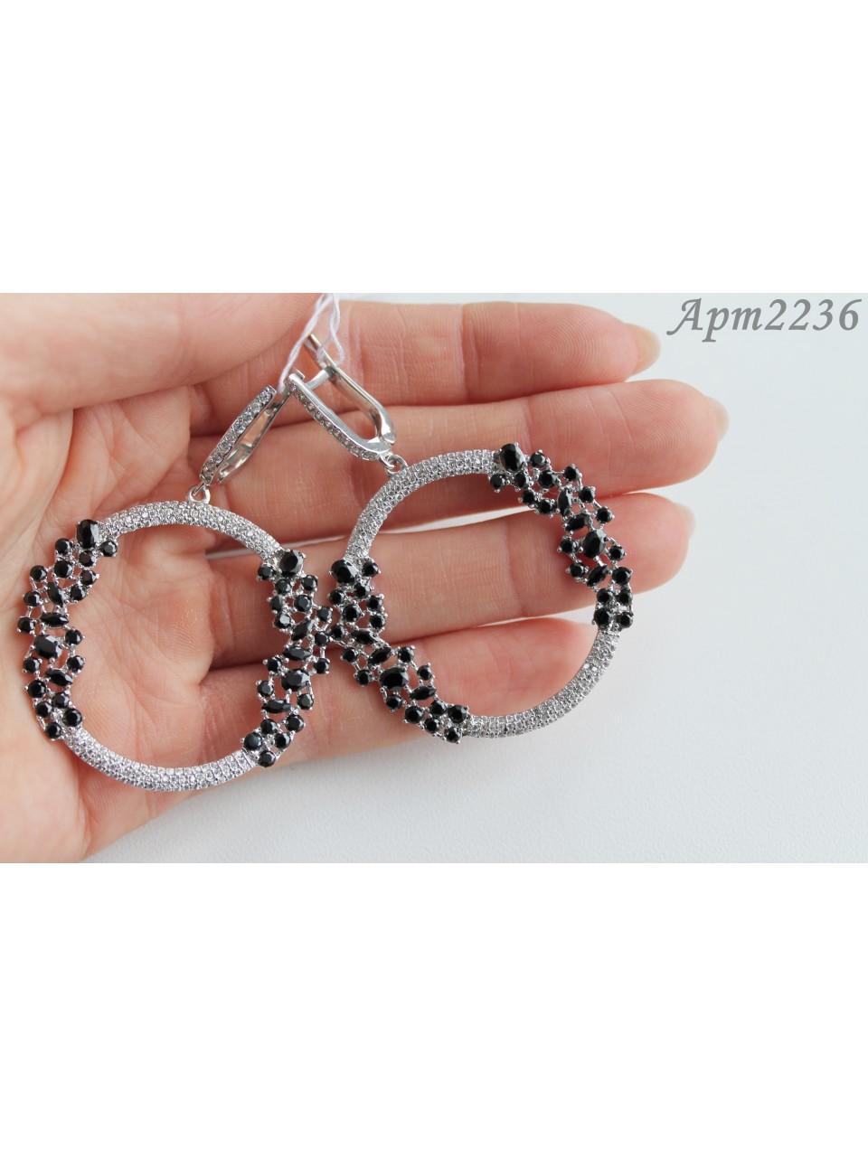 Серебряные серьги Арт.2236