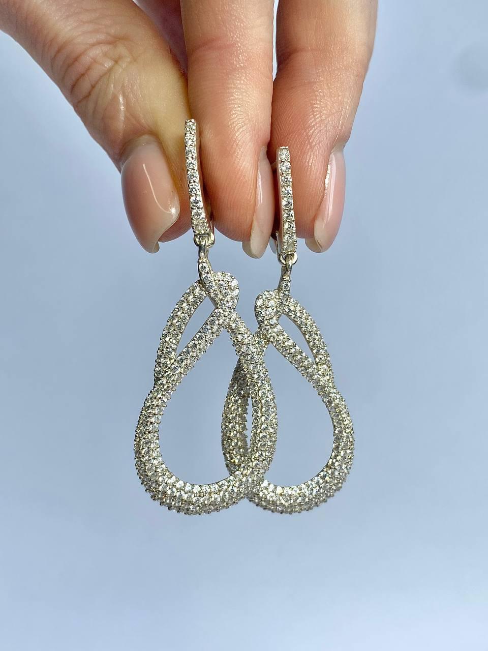Серебряные серьги Арт.2264