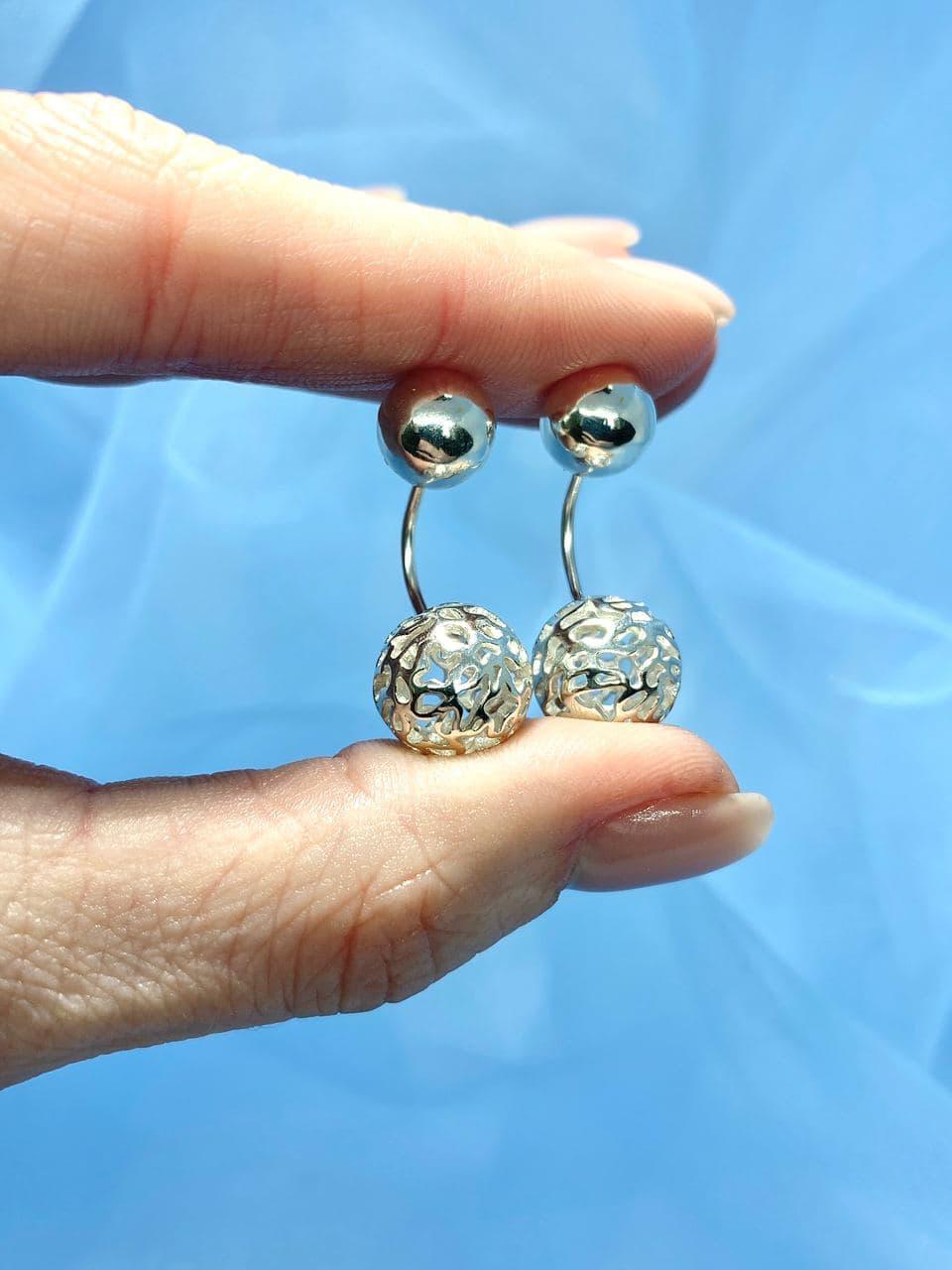 Серебряные серьги Арт.2271-1
