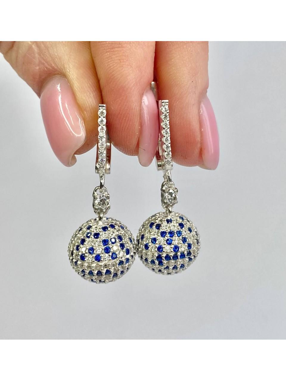Серебряные серьги Арт.2271-4