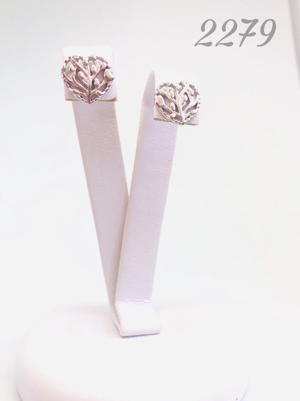 Серебряные серьги Арт.2279