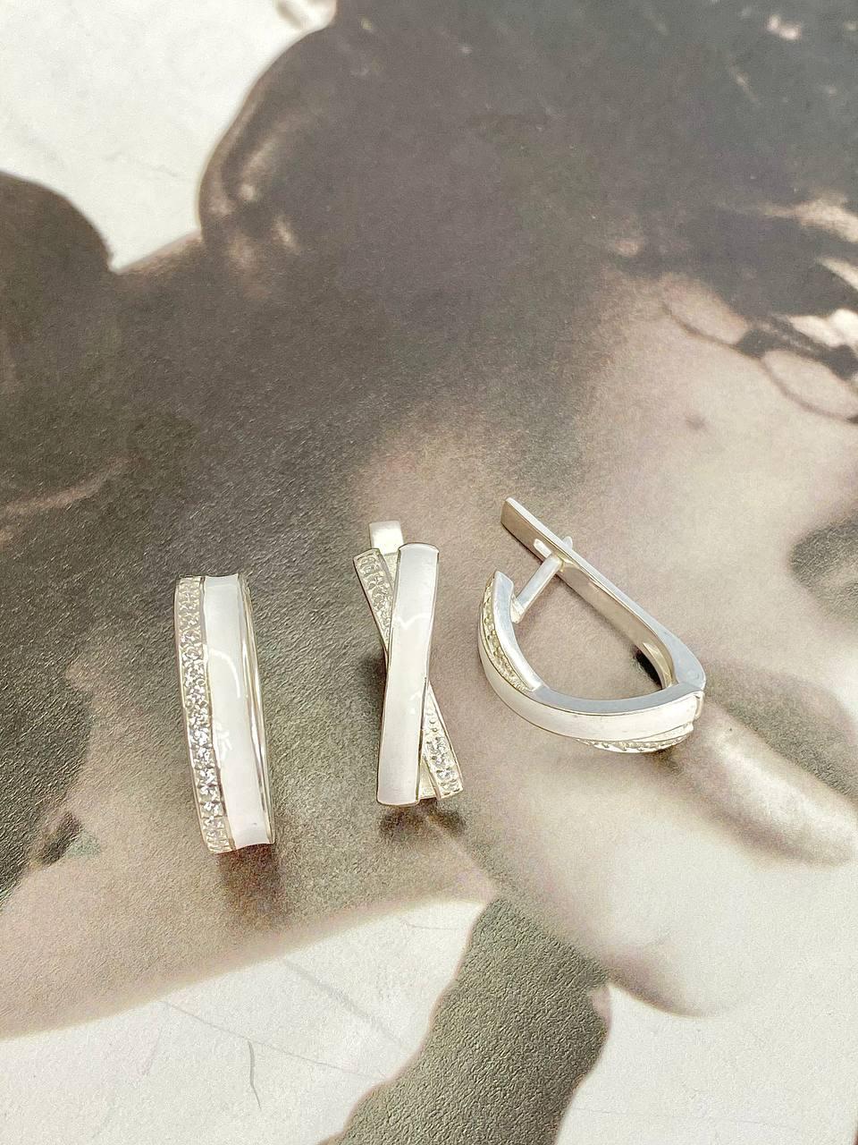 Серебряные серьги Арт.2292