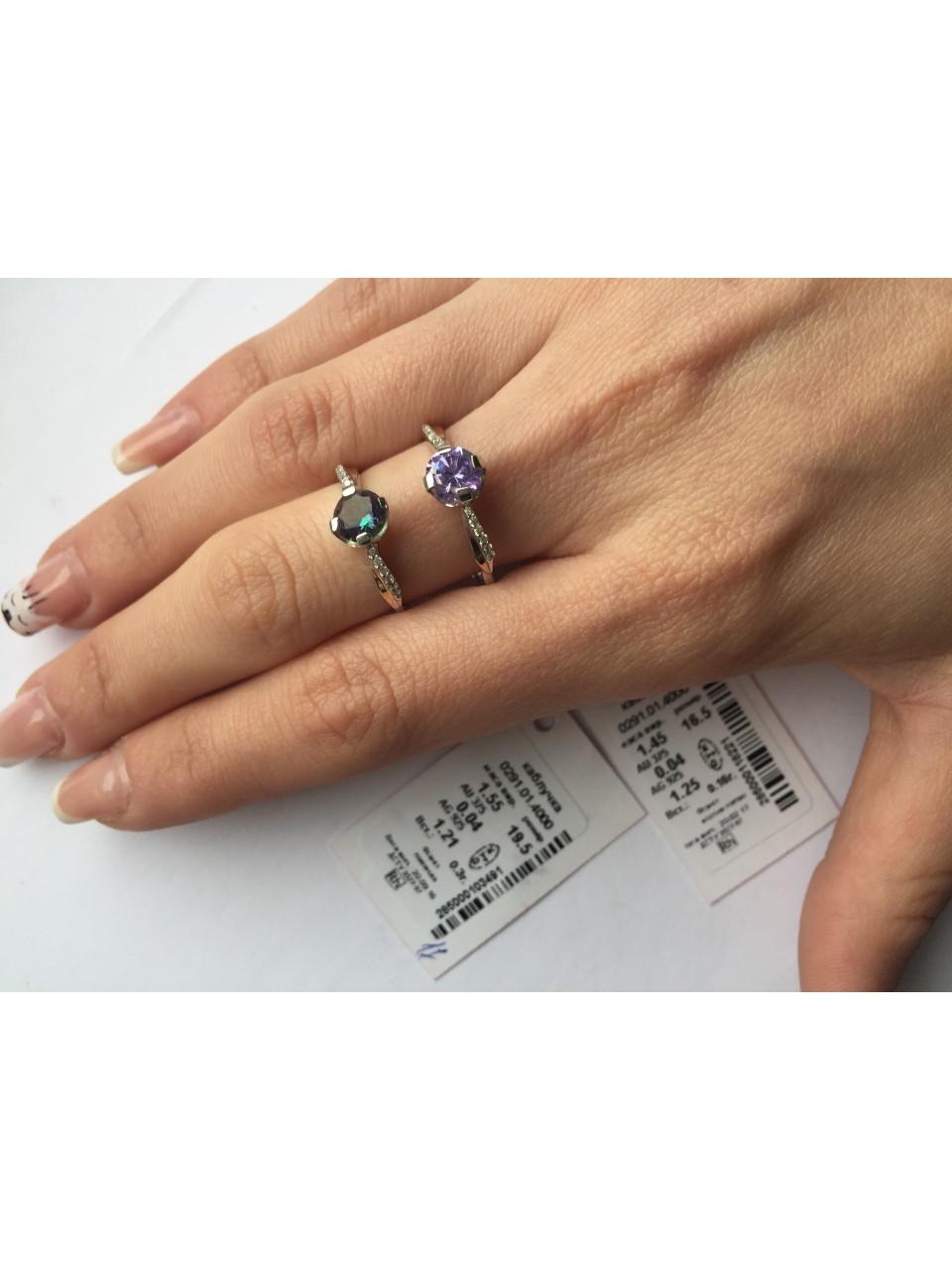Серебряное кольцо Арт.291