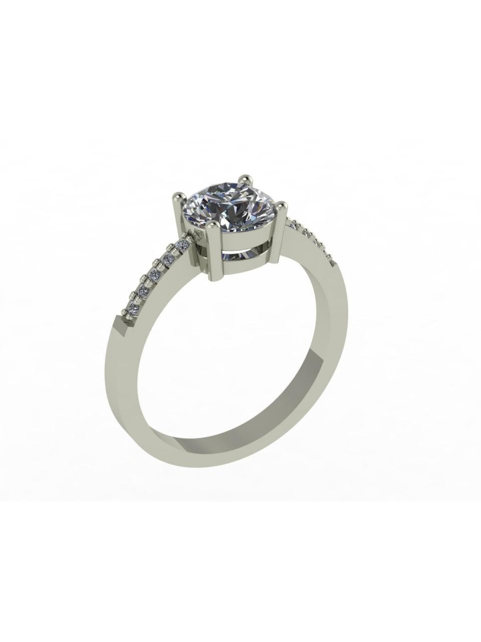 Серебряное кольцо Арт.472