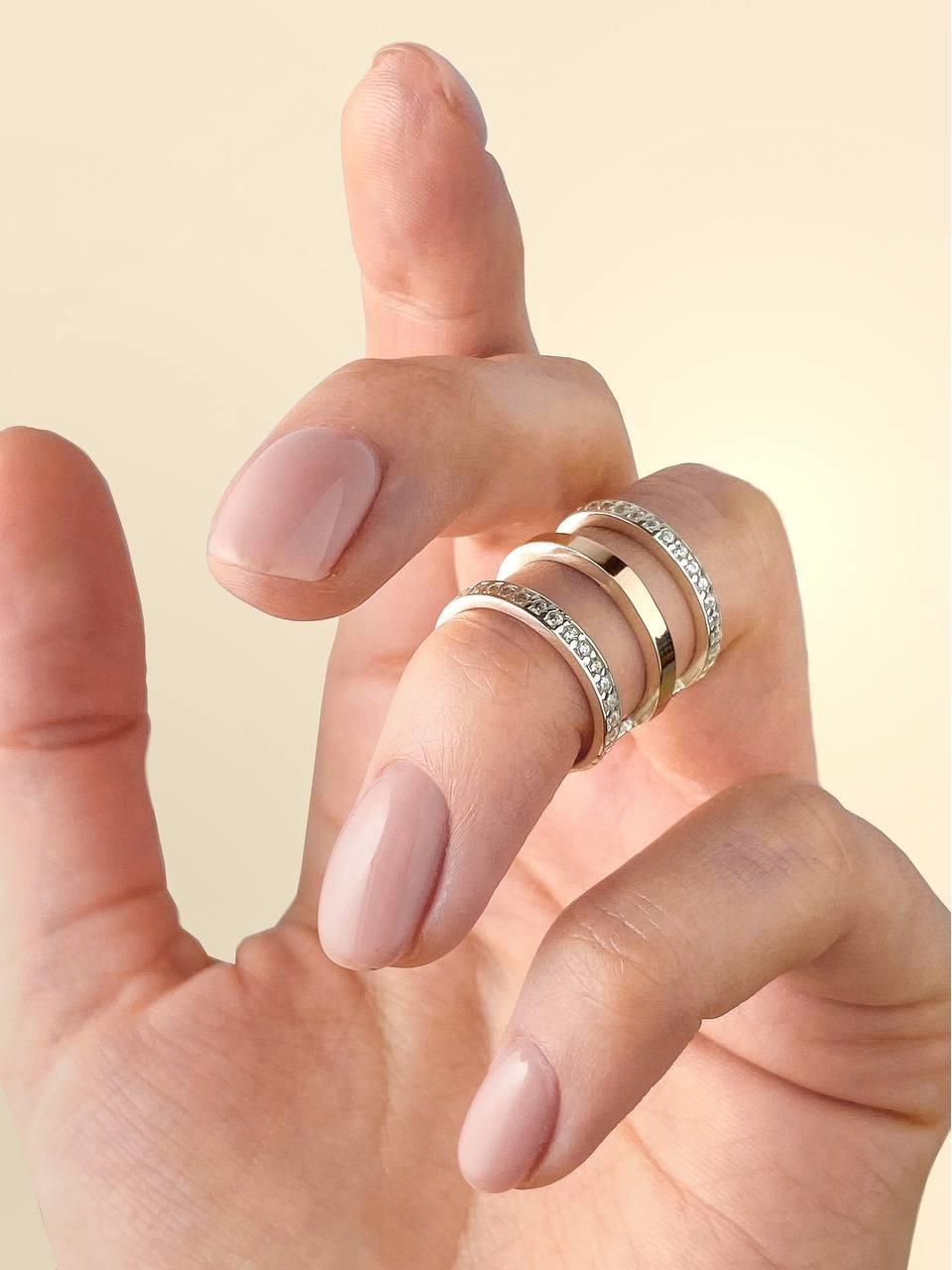 Серебряное кольцо Арт.875