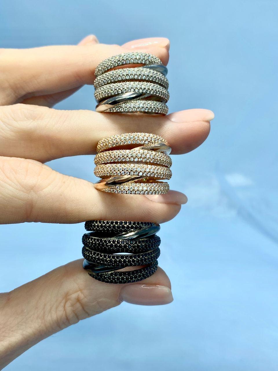 Серебряное кольцо Арт.899