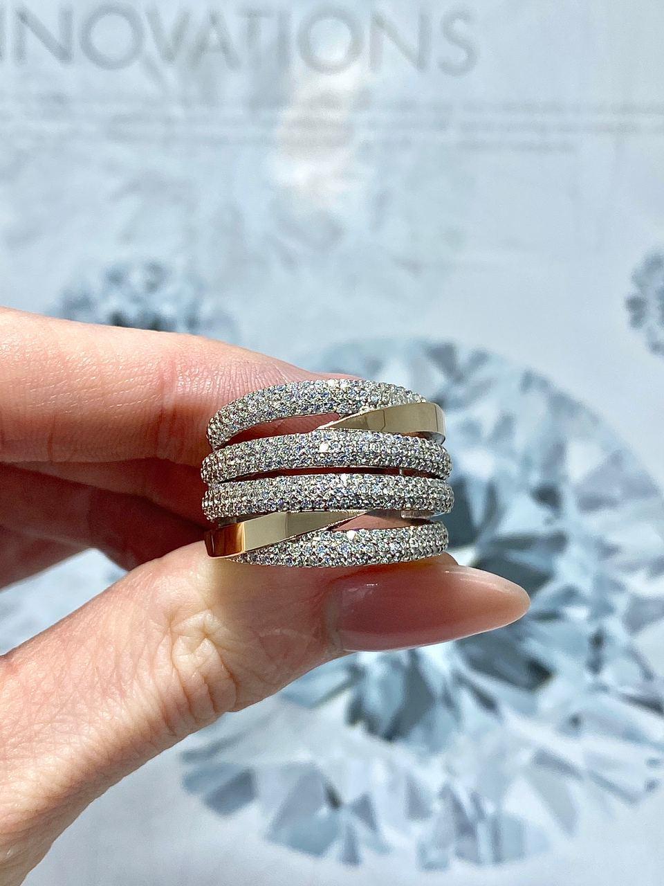 Серебряное кольцо Арт.899-1